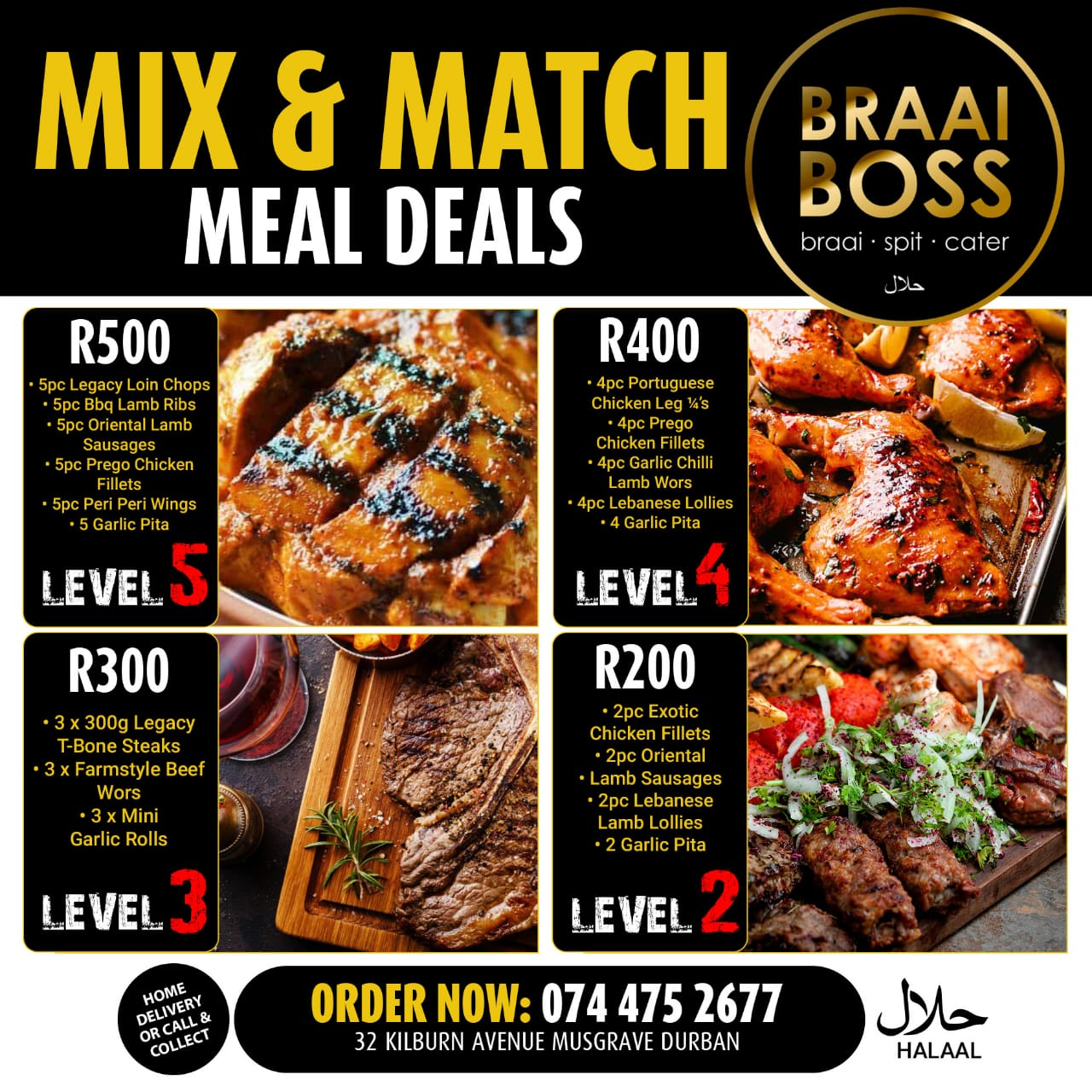 Mix & Match Meal Deals